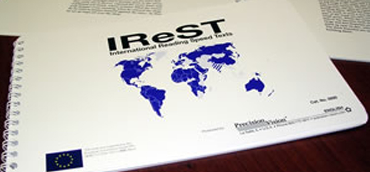 Photo of the iReST test book