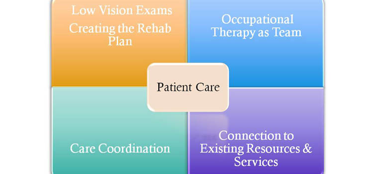 graphic representing patient care model
