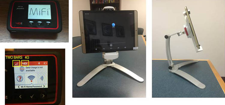 devices used for tele-rehabilitation